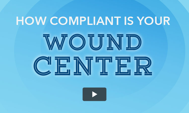 Watch this video on how to keep your wound center safe